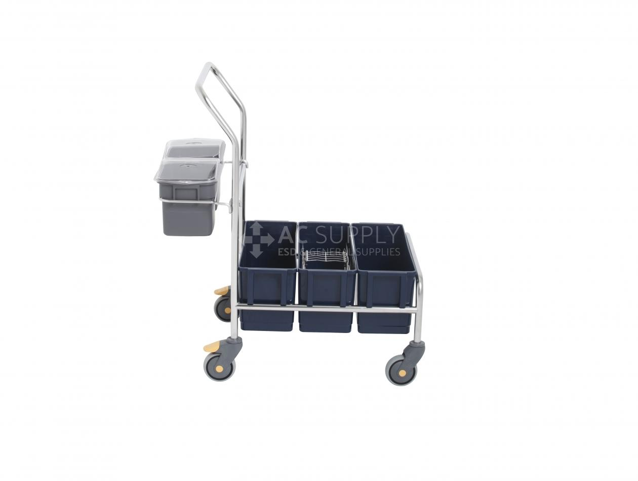 Purquip 174 Ergo 320 Triple Bucket System Plastic Ac Supply