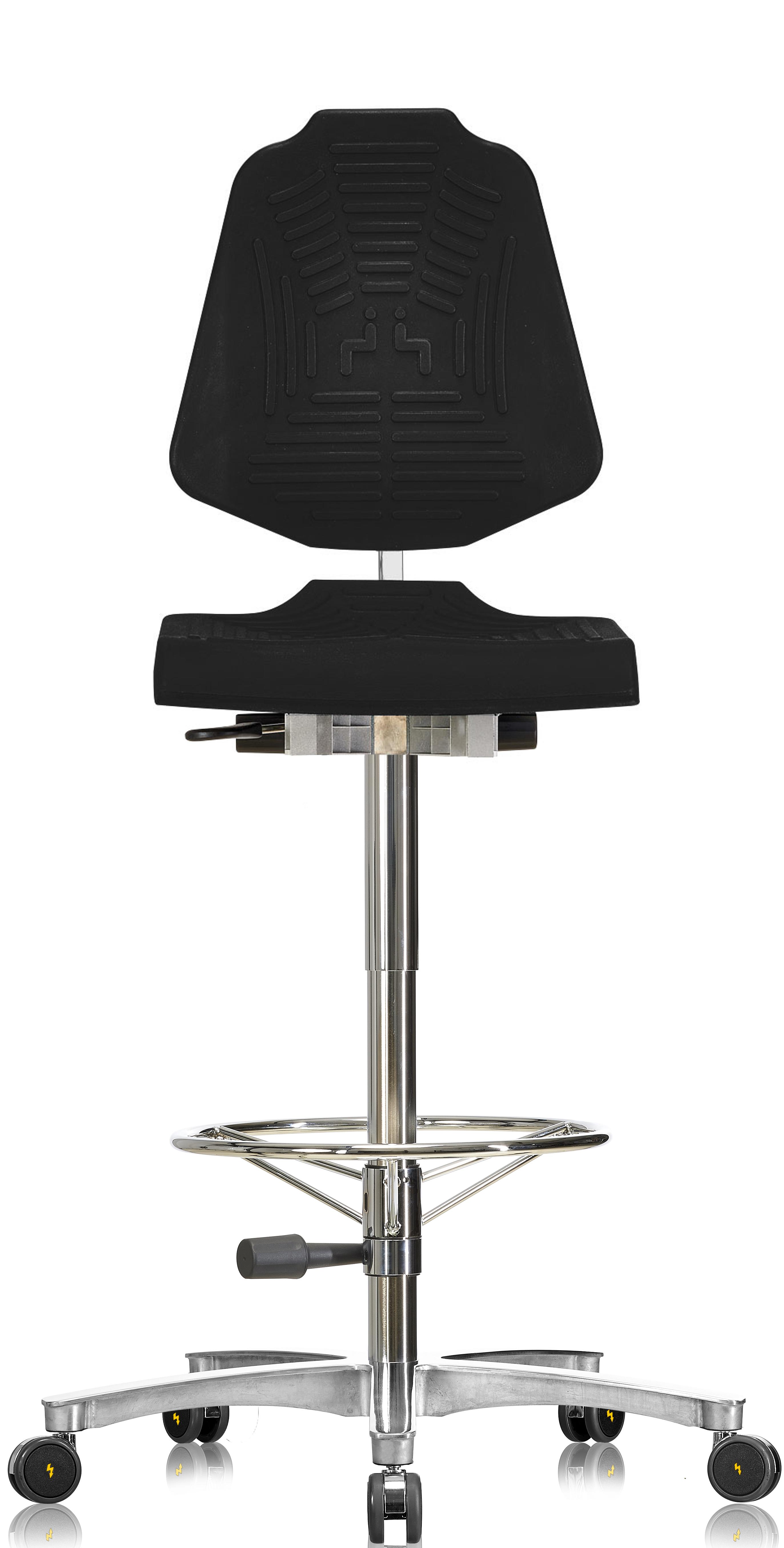 Sedia antistatica ergonomica e xl classic esd for Sedia ergonomica